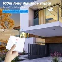 Panneau interrupteur tactile intelligent  1 2 3 gangs  433MHZ  sans fil  pour maison intelligente  avec Alexa et Google Home Assistant