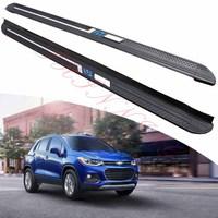 KINGCHER Fit For Chevrolet Trax 2013-2020 Running Boards Side Step Nerf Bar Aluminium
