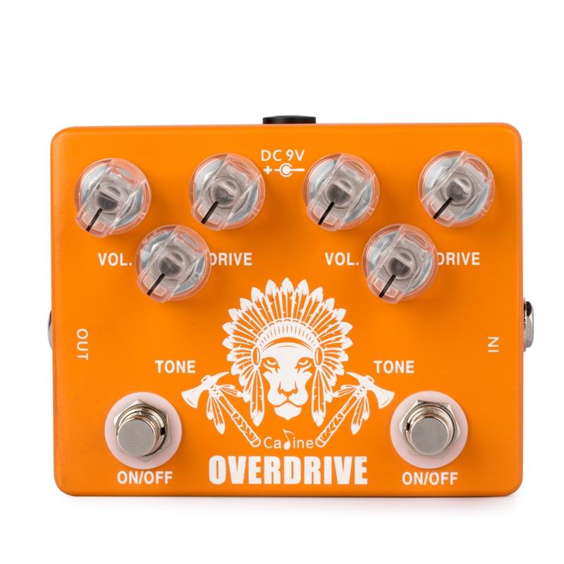 Caline CP-70 Dual Overdrive Guitar Effect Pedal True Bypass Guitar Accessories