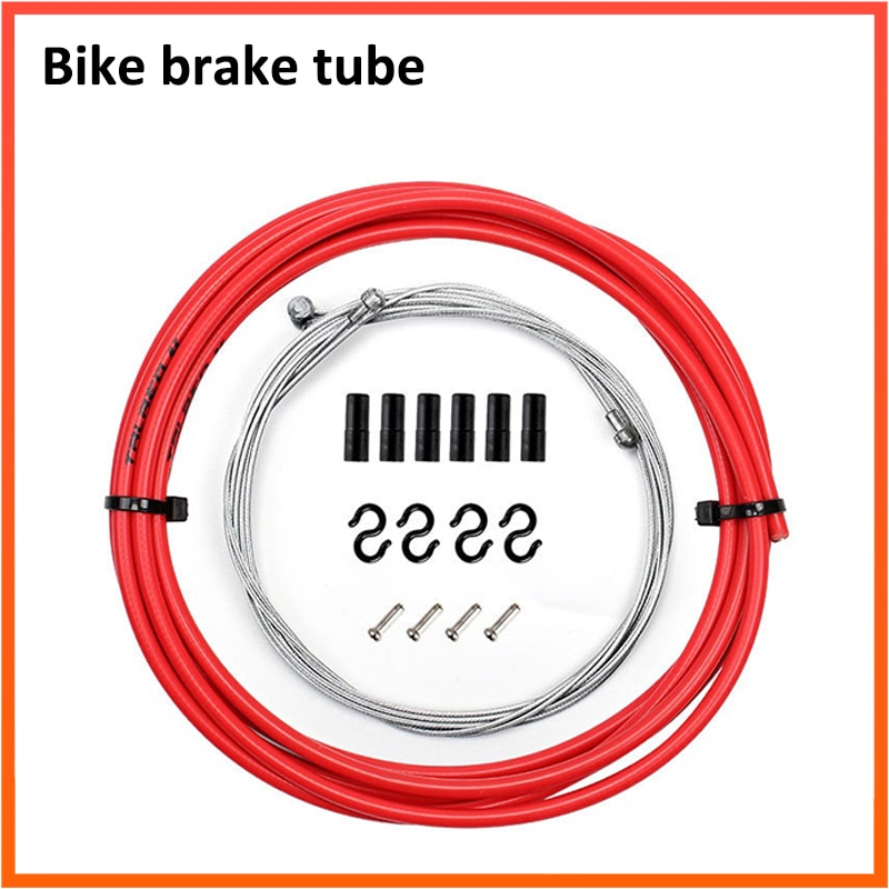 2,5 M bicicleta de montaña manguera de freno de disco hidráulico tubo de aceite 5mm MTB bicicleta freno Hosing Kit de Cable Kits BH59 / BH90 conector
