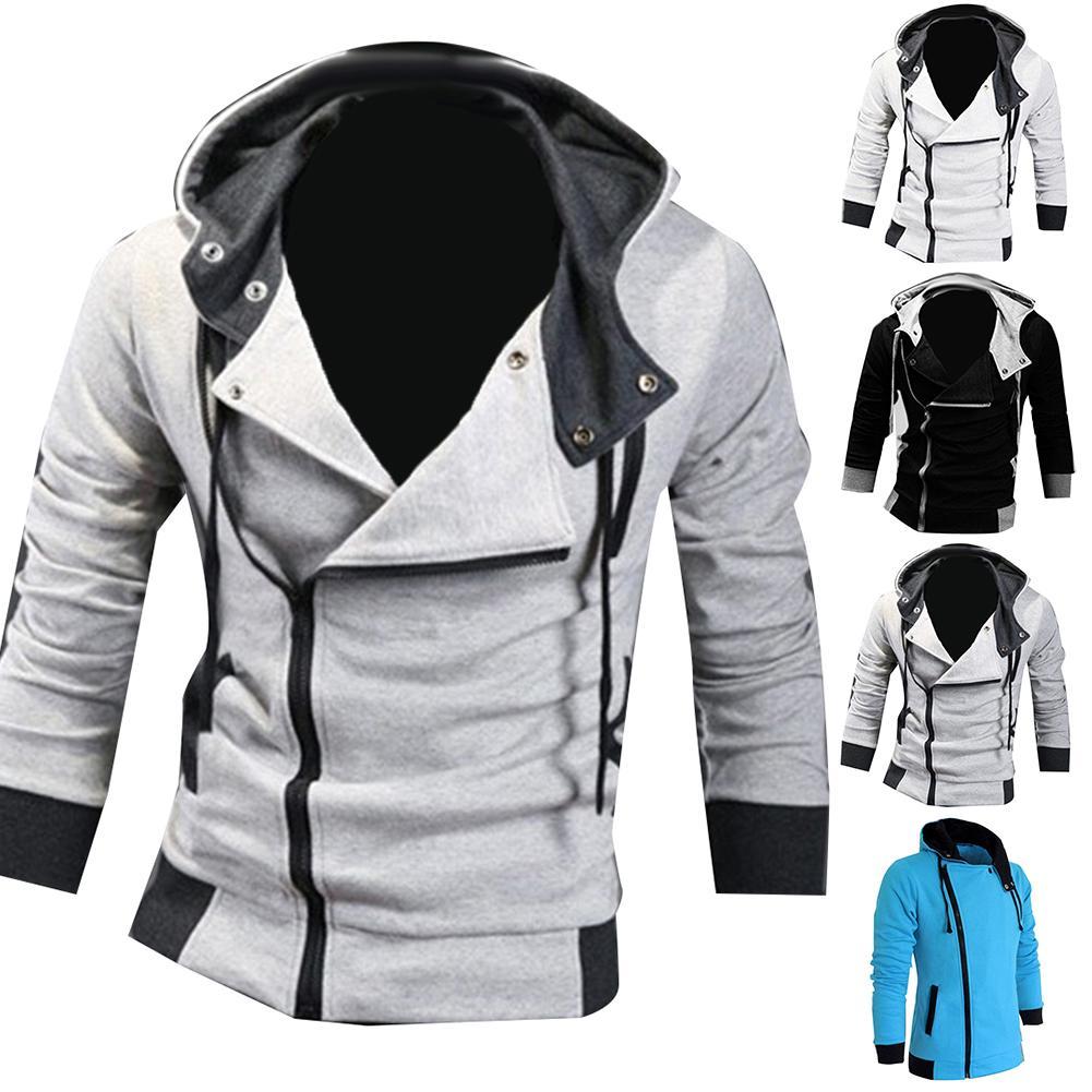 куртка утепленная jackets industry jackets industry ja036emhcit6 Mens Jackets Spring Autumn Casual Coats Solid Color Mens Sportswear Stand Collar Slim Jackets Male Bomber Jackets куртка мужская