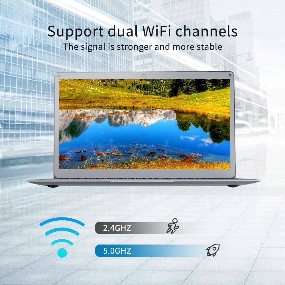 NEW  Jumper EZbook X3  Notebook  4/8GB  64/128GB 13.3 inch 1920*1080 IPS Screen Intel Ultra Slim laptop Win10  2.4G/5G WiFi