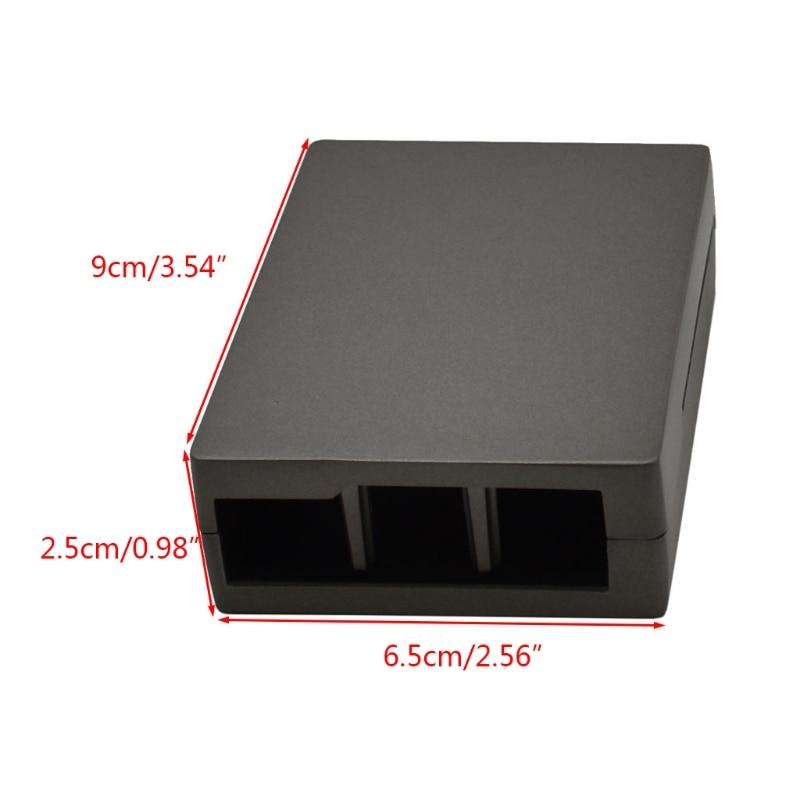 Aluminum Copper Case Metal Enclosure Protective Cover Shell for Raspberry Pi 3 Model B/B+/Pi 2 Model B/B+ Accessories enlarge