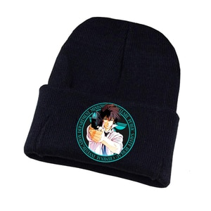 Anime Psycho-pass Knitted Hat Cosplay Hat Unisex Print Adult Casual Cotton Hat Teenagers Winter Knitted Cap