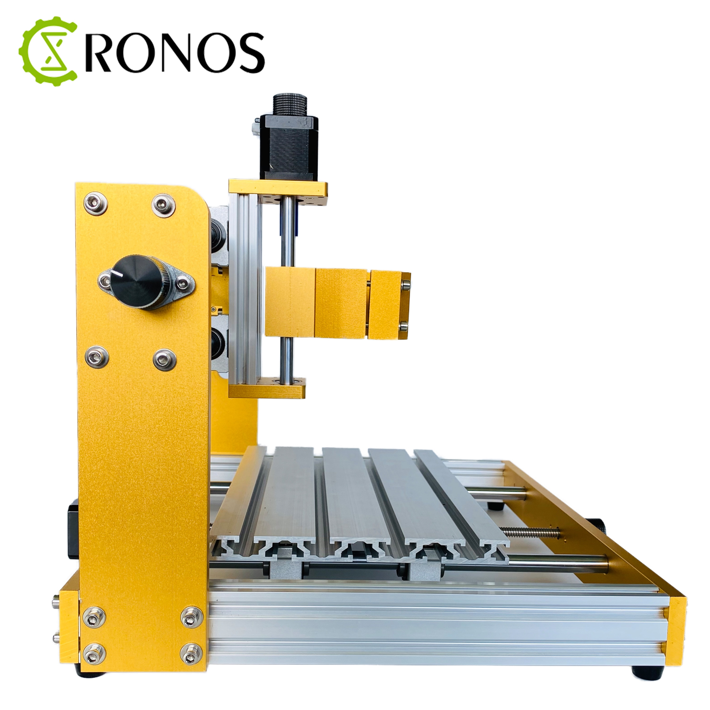 CNC Router Metal Frame Kits 30*18Plus 2 in 1 CNC Laser Carving Machine Apply Nema17 Stepper Motor,52mm/40mm Clamp enlarge