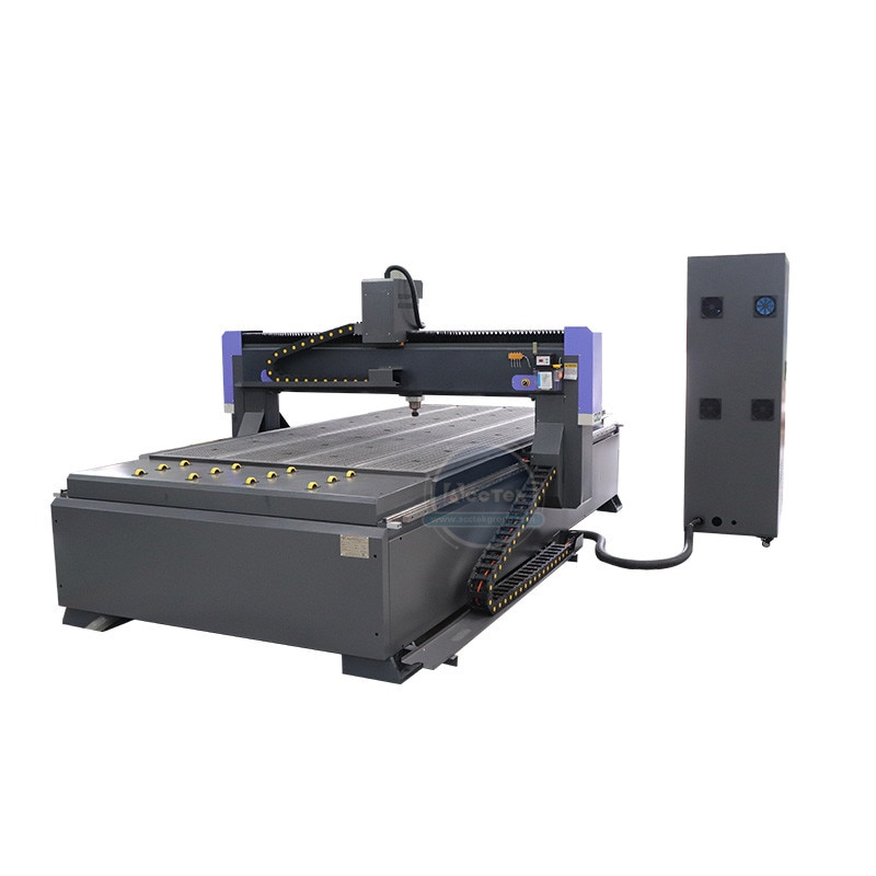 5x10 Feet Vacuum T slot Table G Code Wood 3D Cnc Router Engraving Machine For Sale enlarge