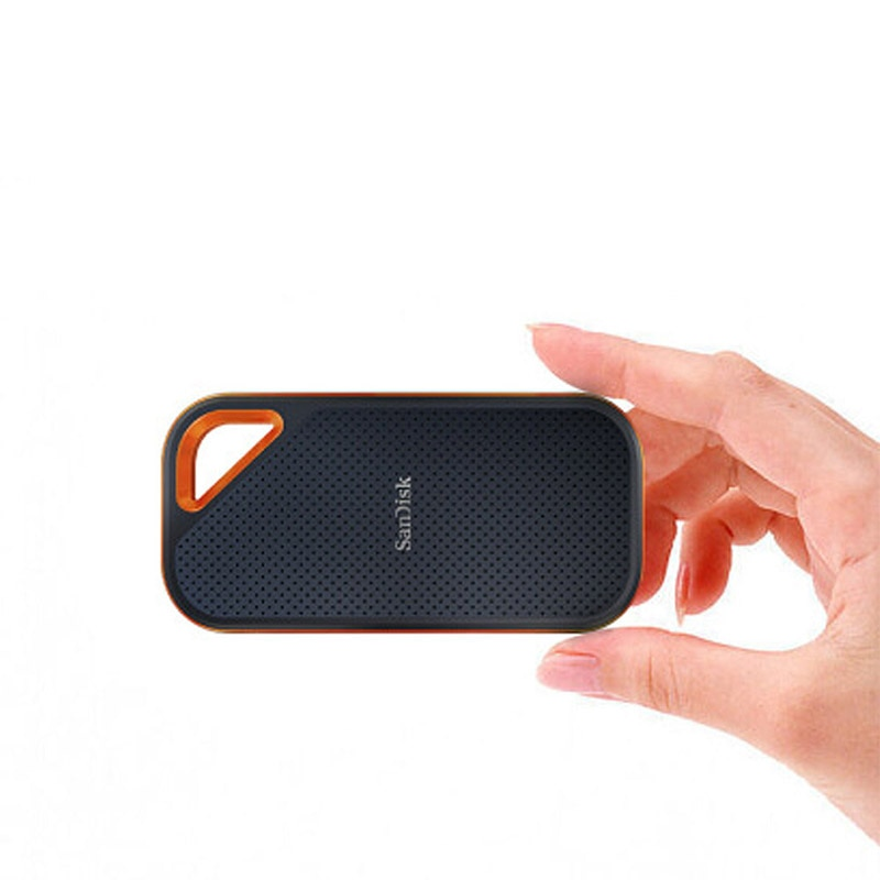 SanDisk External Portable External SSD 2TB SSD Solid State Drive 1TB Pen Drive Type C Ssd Drive Reader Up To 2000MB/s For Laptop enlarge