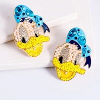 cartoon design stud earring wholesale cute lovely earrings for teen girls 2021 toy fashion party gift trend ear ring woman