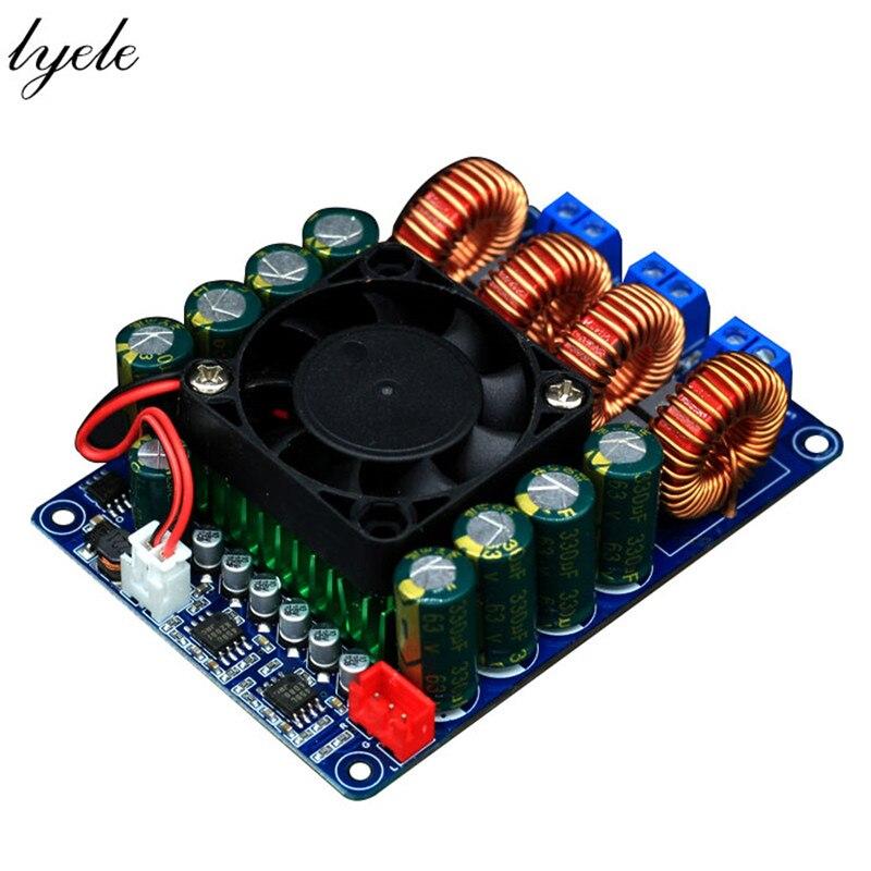 TPA3255 2X300w ستيريو/قناة مزدوجة/فئة عالية الطاقة D/لوحة مكبر كهربائي رقمي مع مروحة التبريد