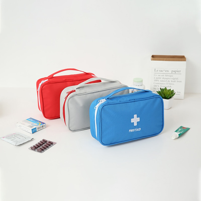 Portable Medium Empty Household Multi-Layer First Aid Kit Pouch Outdoor car emergency kit Bag Survival Medine Travel Rescue Bag