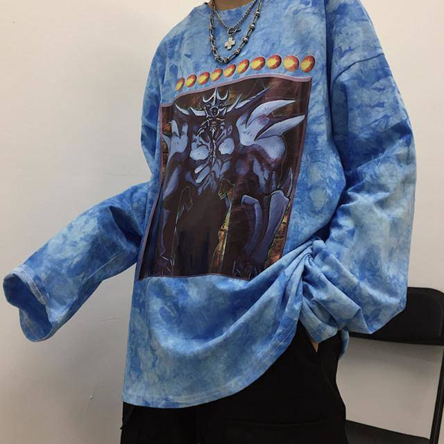 Harajuku t shirt men/women anime Yu-Gi-Oh! 3D printed t-shirts long sleeve hip hop tshirt streetwear tops Japan Autumn T Shirts