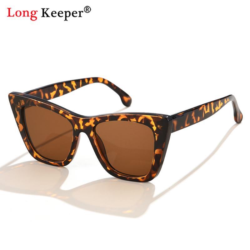 New Trend Summer Cat Eye Sunglasses Women Big Frame Glasses Okulary UV400 Shades Vintage Outdoor Sun Protection Sun Glasses outdoor full frame flat lens sun shades sunglasses