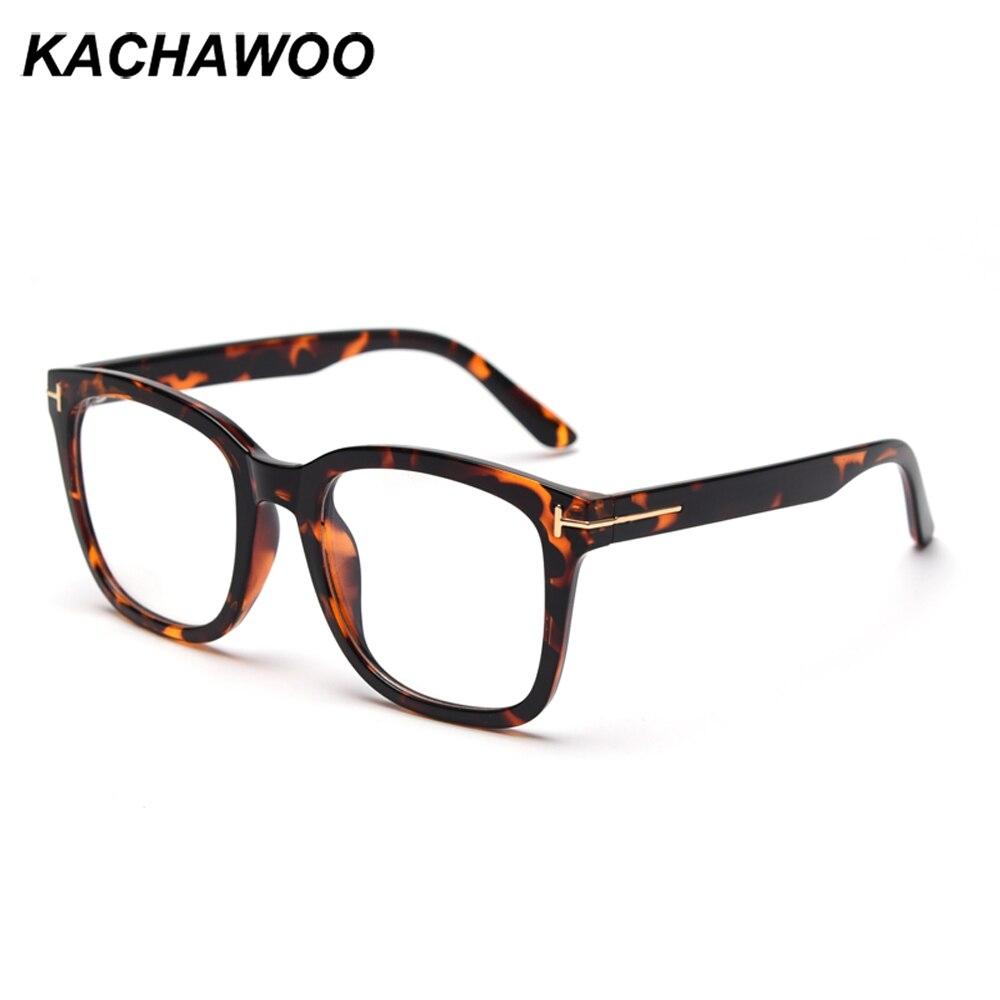 Kachawoo gafas de prescripción anti luz azul transparente tr90 monturas gafas cuadradas para damas unisex accesorios de tendencia