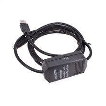Câble de USB-SC09-FX de programmation PLC amélioré pour adaptateur Mitsubishi MELSEC USB vers RS422 nouveau avec indicateur de communication