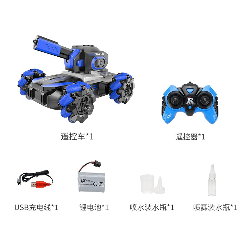 2.4G 1/12 RC Stunt Car 4WD Vehicle Drift OffRoad Spray Water Machine Remote Control Drive Sidewalk Model Toy Gift Kid rc cars enlarge
