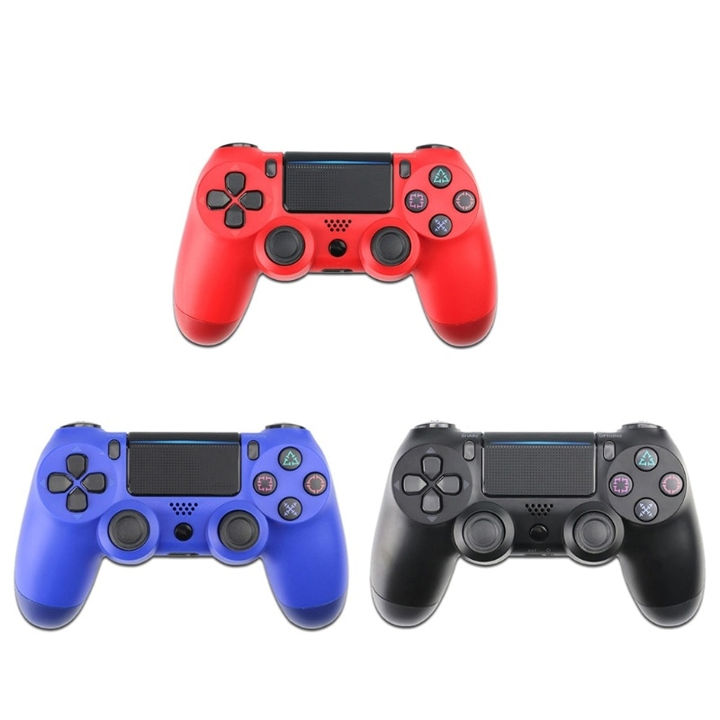 Wireless Gaming Controller Gamepad Joystick 6-axis Dual Vibration PC Game Remote Control Somatosensory Handle for PS4