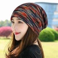 autumn winter thickened wool hat pullover hat warm knit hat bonnet peaked cap bucket hat beanie cap bonnet panama hat for women