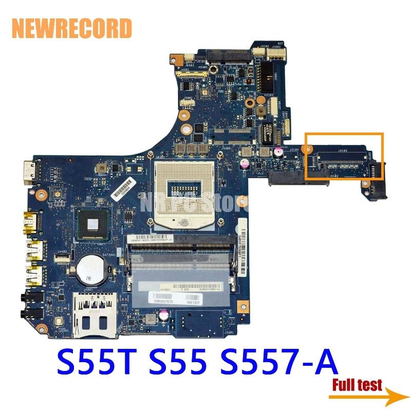 Newrecord h000067070 para toshiba satélite s55t s55 S557-A portátil placa mãe hm86 gma hd4400 ddr3l teste completo