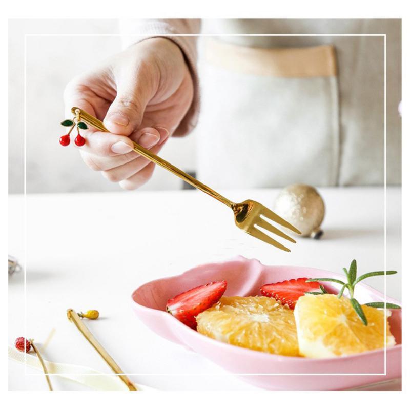 2020 NEW Stainless steel 410 Fruit fork Fruit spoon Steak fork Coffee spoon Stirring spoon Western tableware