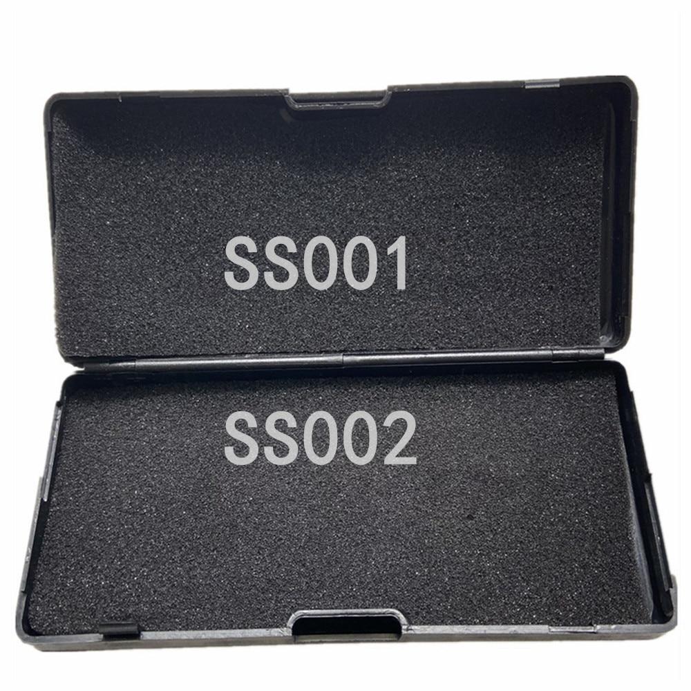 SS001 SS002 LiShi 2 في 1 أداة فك التشفير picik & فك مجموعة أدوات إصلاح طقم أدوات الأقفال المدني