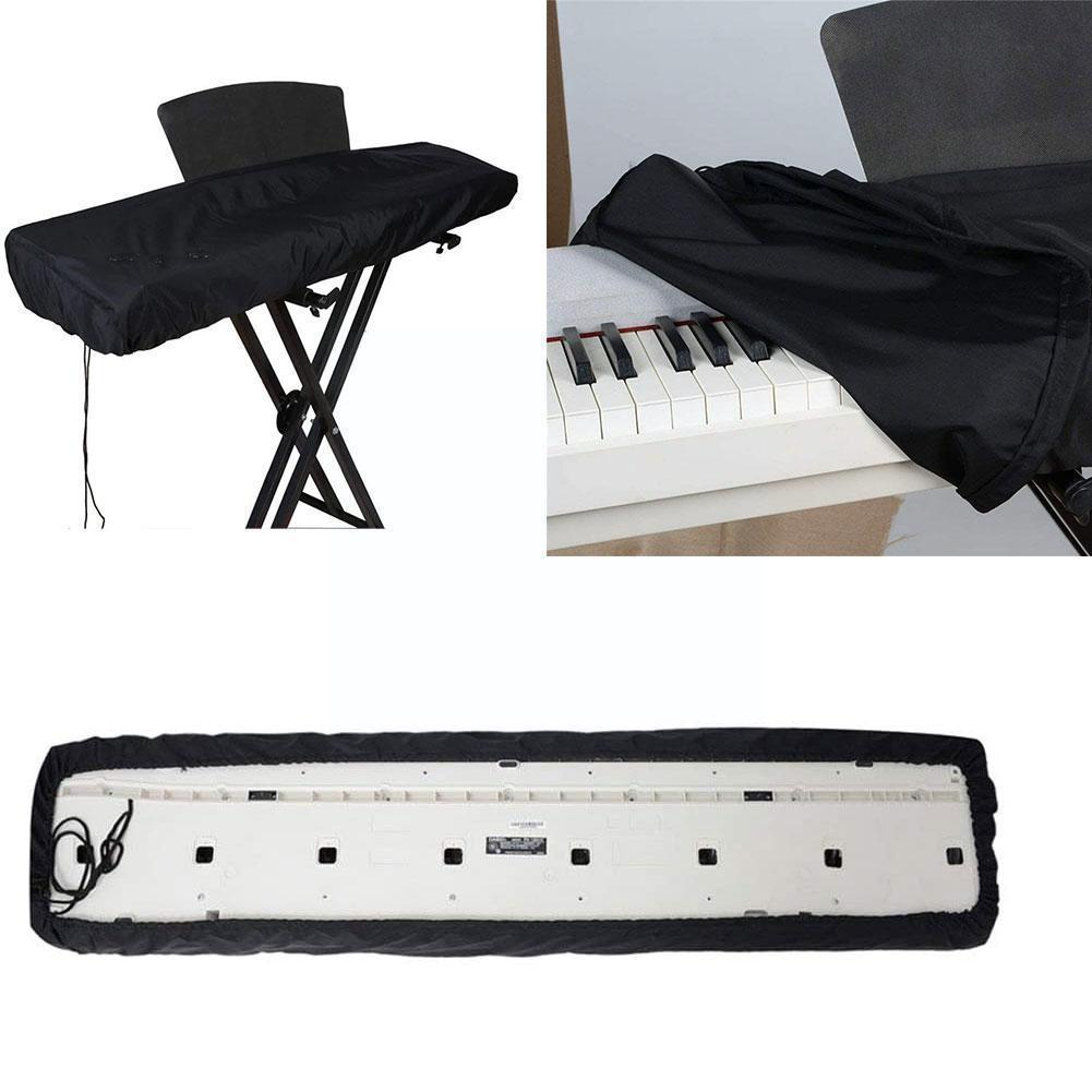 Piano Cover Dust Cover 61/88 Fully Enclosed With Board Electronic Digital Piano Cover Shrink Drawstring K6a4