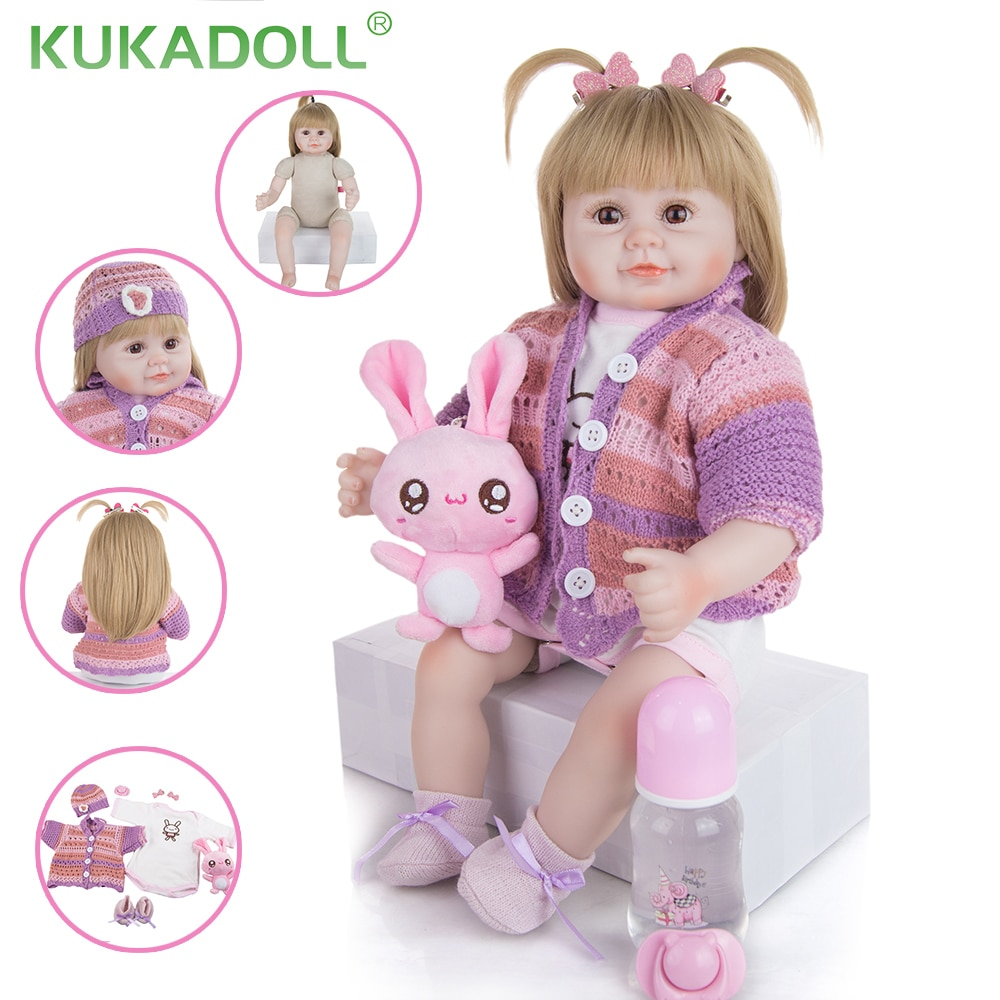 kukadoll-18-inch-cute-reborn-babies-doll-cloth-body-lifelike-simulation-baby-play-toys-doll-for-kids-birthday-christmas-present