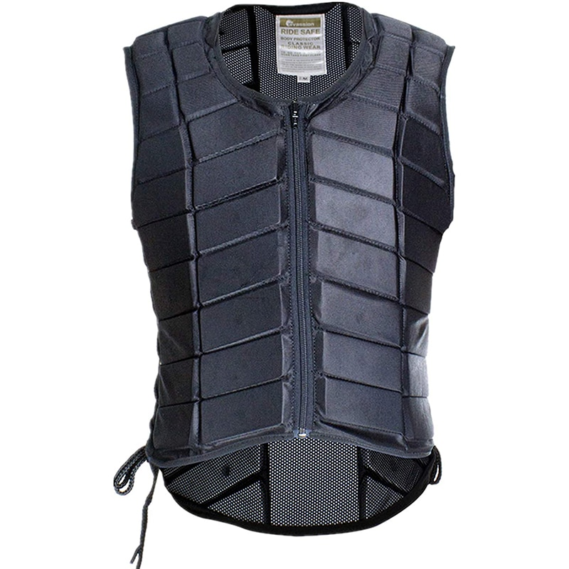 Equestrian Vest Professional Safety EVA Padded Horse Riding Vest Body Protector Gear Waistcoat Unise
