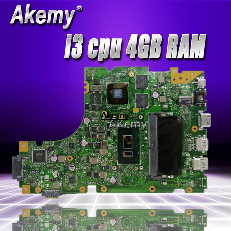 X442UR اللوحة لابتوب For Asus X442 X442U X442UR X442UQ X442UQK X442UQR اللوحة 100% اختبار مع i3 cpu 4GB RAM