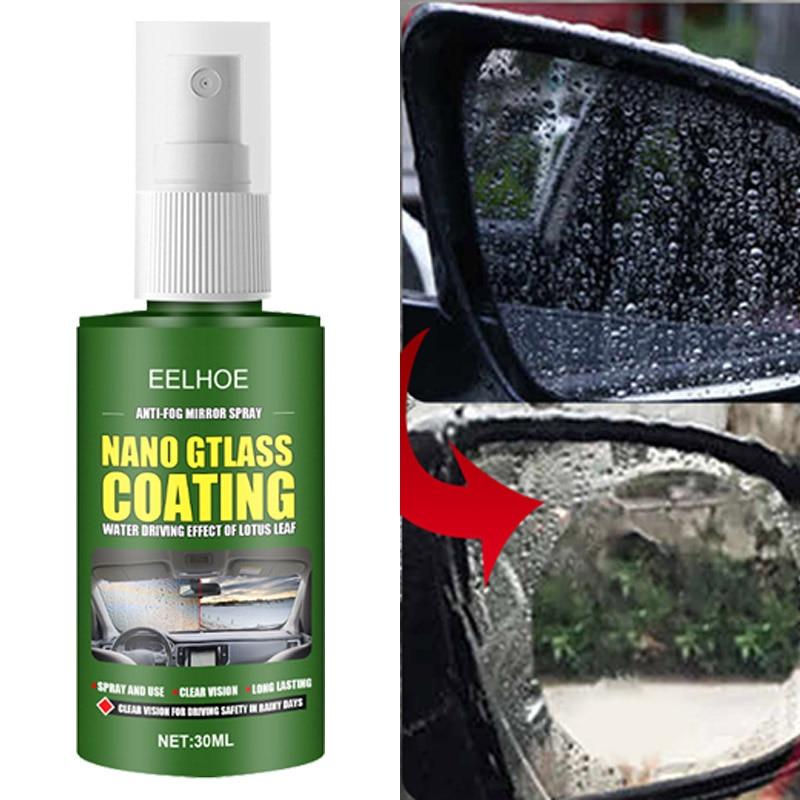 30ml Waterproof Rainproof Anti-fog Agent Glass Hydrophobic Nano Coating Spray For Car Windscreen Bathroom Glass Mobile Screen