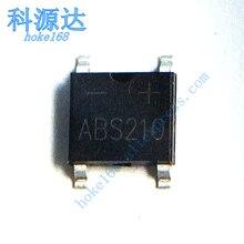10 unids/lote ABS210 ABS10 DB107S DB106S SOP4 rectificador de puente en Stock