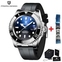 pagani design new 40mm men automatic mechanical table japan nh35 watch men stainless steel waterproof luxury watch reloj hombre
