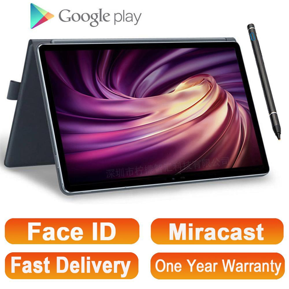 2021 Full New 11.6 Inch 2 in 1 Tablet GPS Android MT6797 10 Cores Gaming PC Tablets 4G Phone Call Laptop Tablet with Keyboard