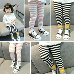 CNUM Children Leggings Kids Cotton  Autumn Soft Girl Trousers Leggings for Girls Age 2-6T Little Clothes