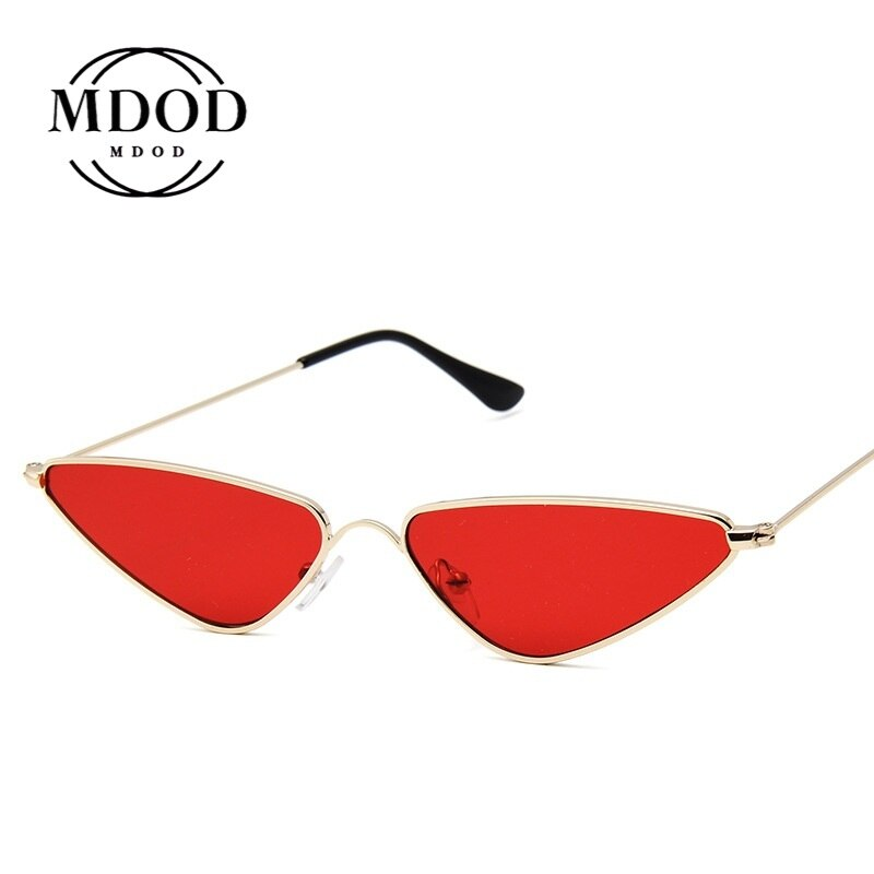 Gafas de sol de moda 2020 de estilo Retro con ojos de gato, gafas de sol Sexy para mujer con espejo de aleación, coloridas gafas de moda para actividades al aire libre, gafas Rave