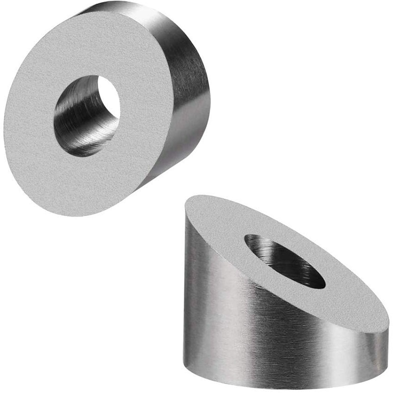 T316 Stainless Steel 1/4 inch 30 Degree Angle Beveled Washer for 1/8 inch to 3/16 inch Deck Cable Railing Kit/Hardware Wood/Meta enlarge