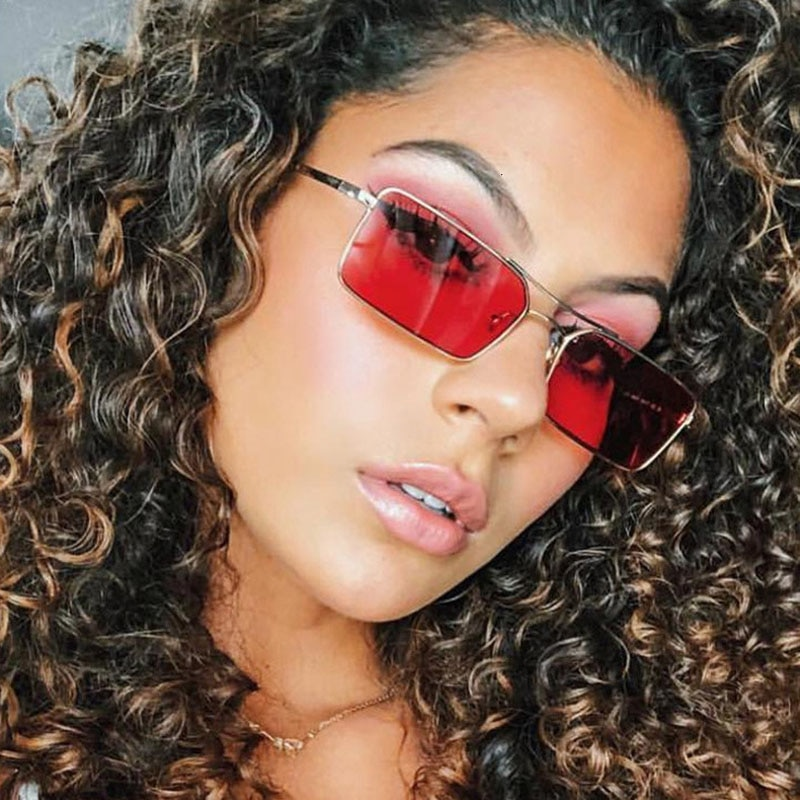 MIZHO 2020 Brand Metal Small Frames Celebrity Sunglasses Men High Quality UV400 Protector Real Color