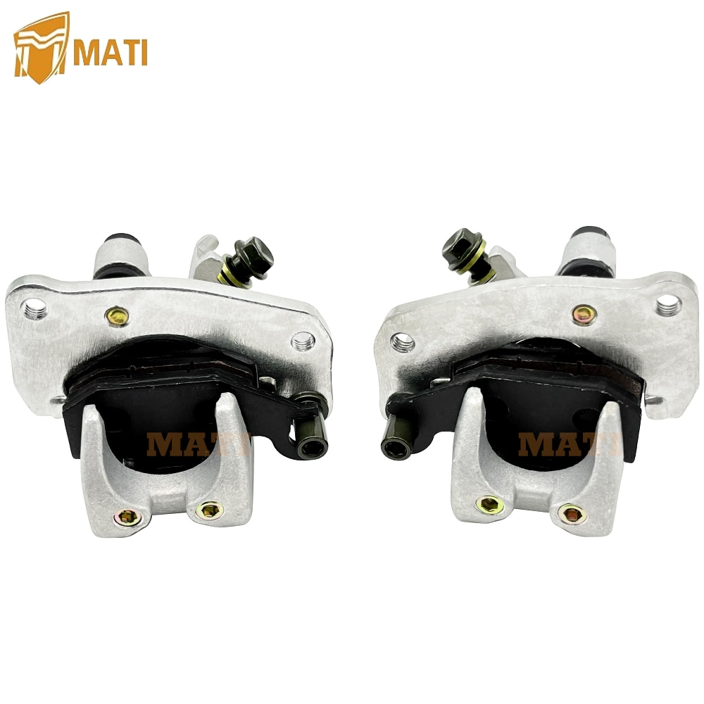 Front Left Right Brake Caliper with Pads for Suzuki KingQuad 400 450 500 700 750 LT-A400 LT-F400 LT-A450 LT-A500 LT-A700 LT-A750 enlarge