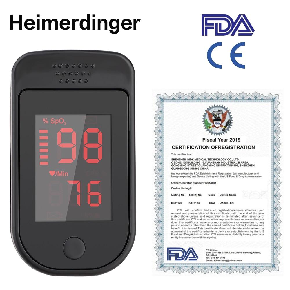 Fingertip Oximeter Health Care Saturation Medical Equipment Without Batter Digital Oxygen Oximetro Household Supplier