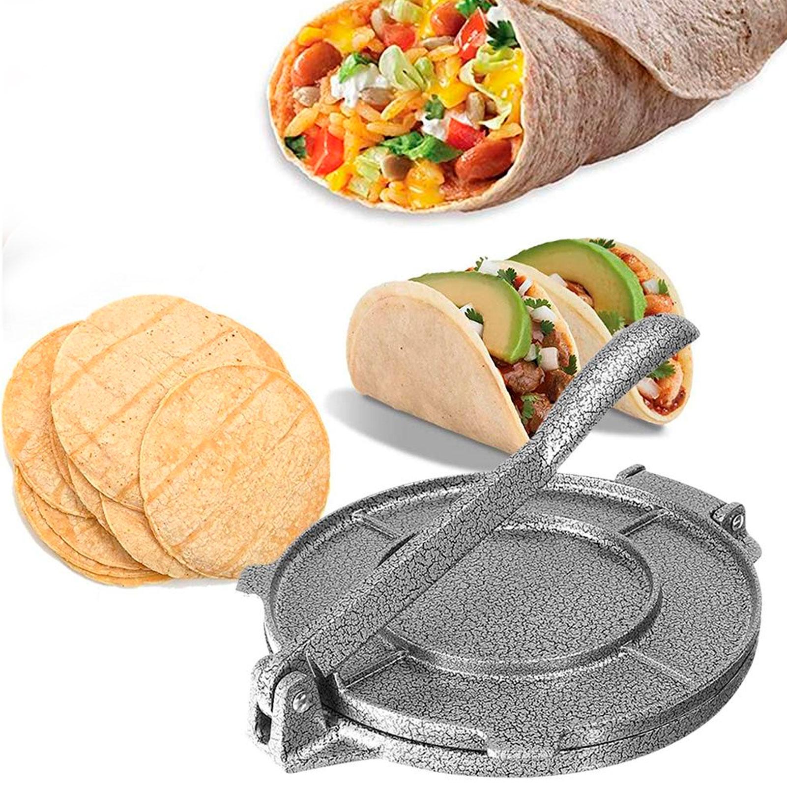 Máquina portátil de prensado de tortillas, utensilio de cocina para hornear, de...