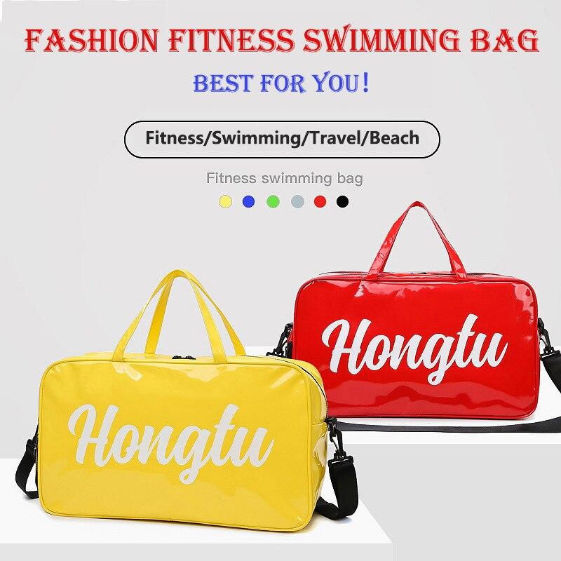 Новинка 2020, высококачественный модный женский спортивный рюкзак для йоги и спортзала, влагозащищенный пляжный рюкзак для туалетных принад...