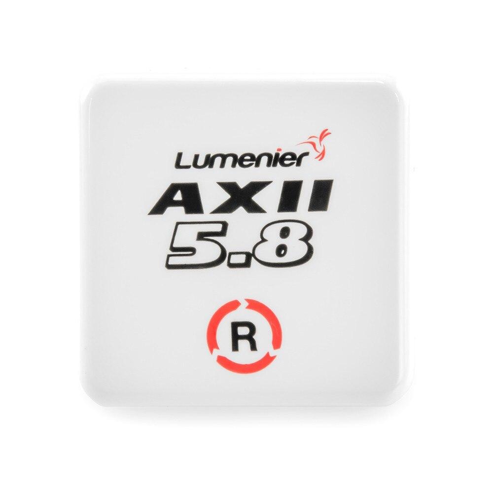 Lumenier AXII parche RHCP SMA 5,8G antena polarizada Circular para Dron RC FPV carreras Freestyle de largo alcance Fatshark gafas VRX