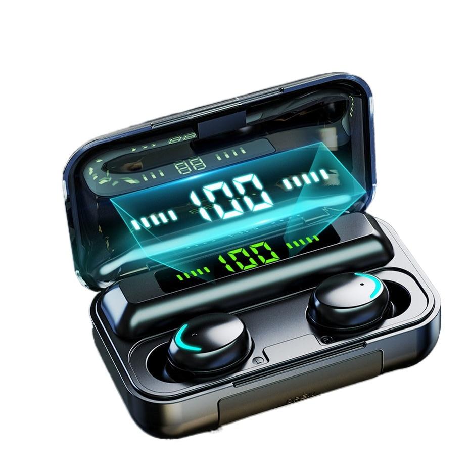 DODOCASE F9-V5.0 Bluetooth 5.0 Earphones TWS Fingerprint Touch Headset HiFI Stereo In-ear Earbuds Wi