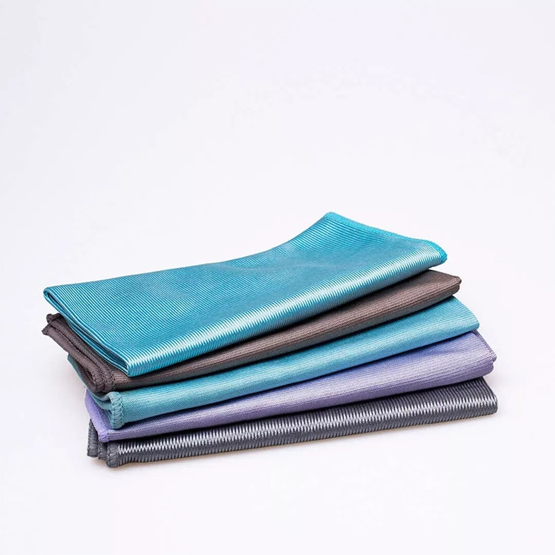 Xiaomi Bamboo Fiber Cloth Kitchen Cleaning Towel High Efficient Antigrease Home Clean Wiping Rag Washing Dish Cloth 5PCS enlarge