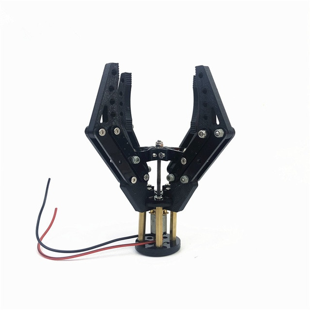 Acrylic Mechanical Claw 3D Printing N20 Motor Clamp 6V 300rpm Robotic Gripper for Arduino DIY Robot