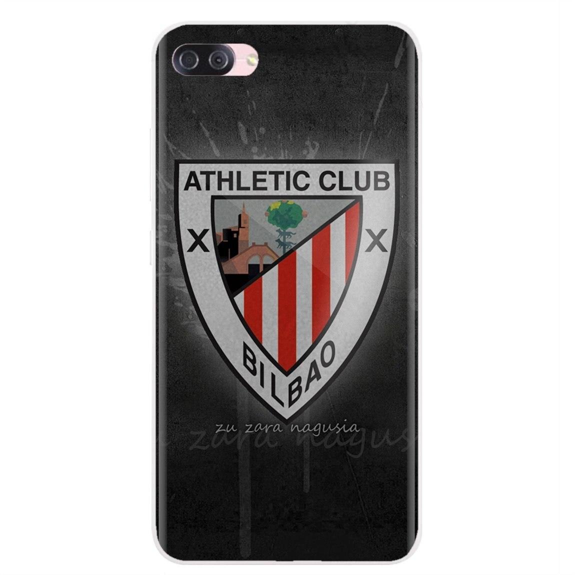 Logotipo del Club Atlético para Huawei G7 G8 P7 P8 P9 P10 P20 P30 Lite Mini Pro P Smart 2017 2018 2019 vender funda de silicona para teléfono