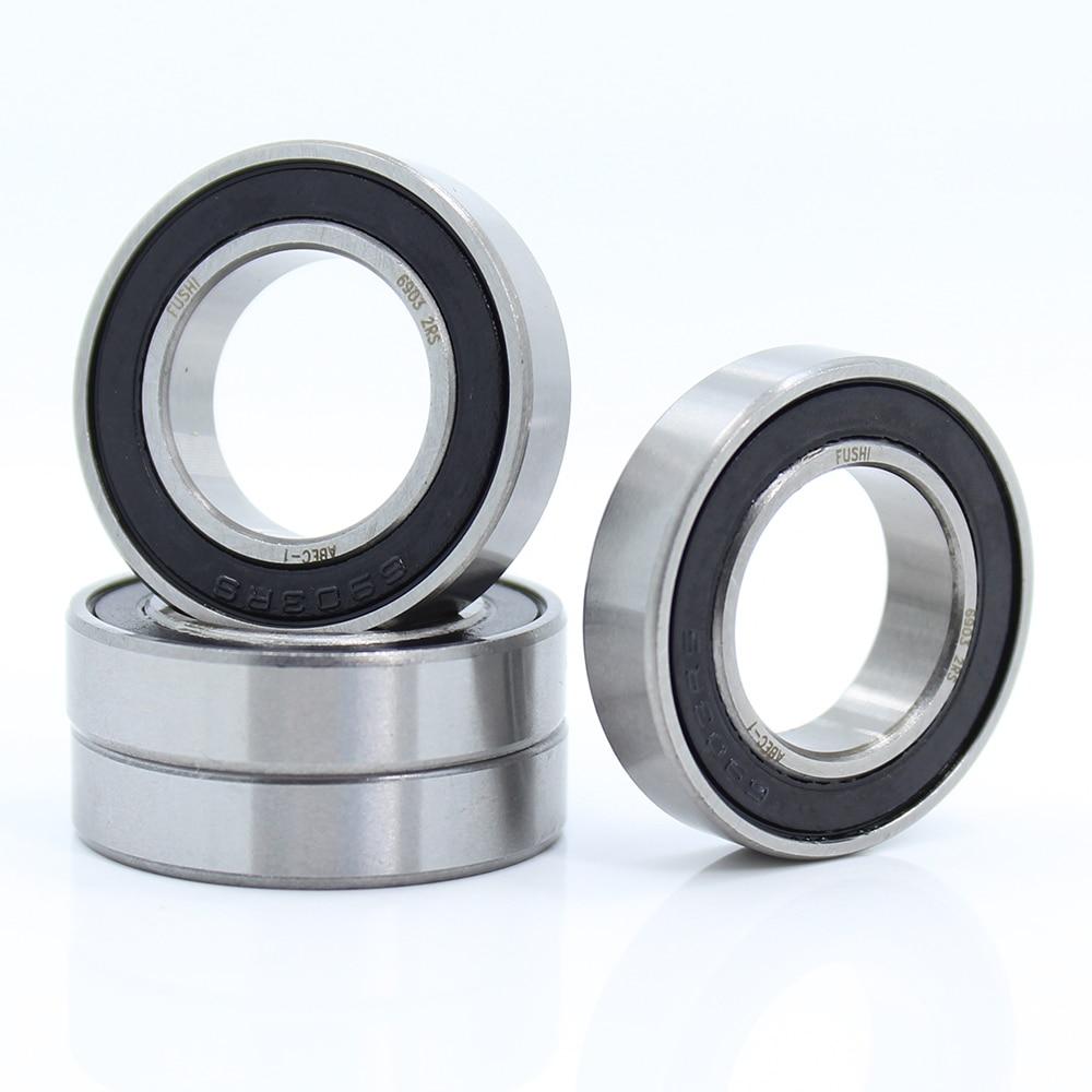 18307rs bearing 5 pcs 18 30 7 mm bicycle axle 18307 lblu drum ball bearings 18307 6903 18 mr18307 6903-2RS Bearing ABEC-1 10Pcs 17x30x7 mm Thin Section 6903 2RS Ball Bearings 6903RS 61903 RS