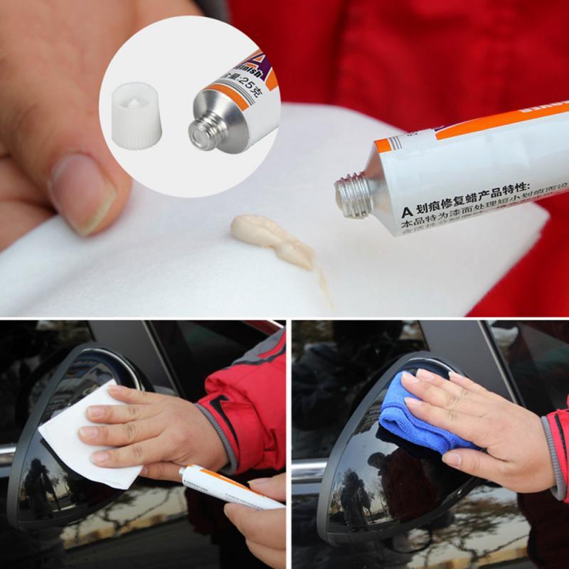 Agente de reparo de arranhões em carro, pintura de polimento, cera, removedor de arranhões, manutenção de cuidados