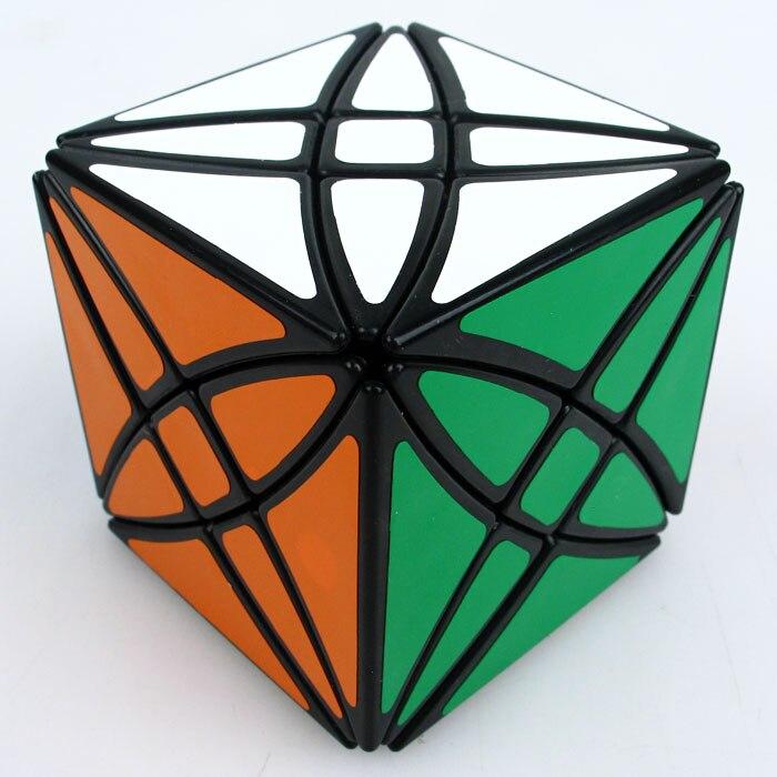 Lanlan flor Rex cubo mágico velocidad rompecabezas cubo 8 ejes hexaedro cubo mágico juguetes para chico niños regalo Idea para cumpleaños Xmas