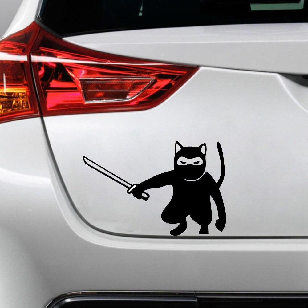 Фото - Fun Ninja Авто Наклейка виниловая наклейка на авто на заказ окно дверь стена наклейка наклейка оранжевыйслоник виниловая кикбоксинг для авто или интерьера винил