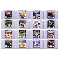 Jeu 64 bits jeux daction-aventure 2 jeux vidéo cartouche Console carte langue anglaise Version américaine pour Nintendo